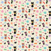 Kawaii Cats with Bow