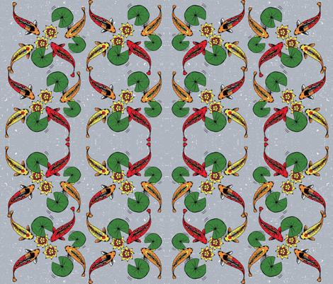 JAPANESE FISH fabric by fdlcreative on Spoonflower - custom fabric