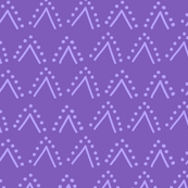 Thistle Chevrons Purple