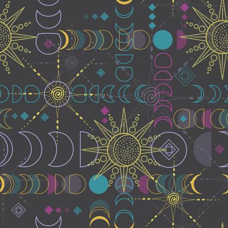 Mystical Alchemy fabric by teresamagnuson on Spoonflower - custom fabric