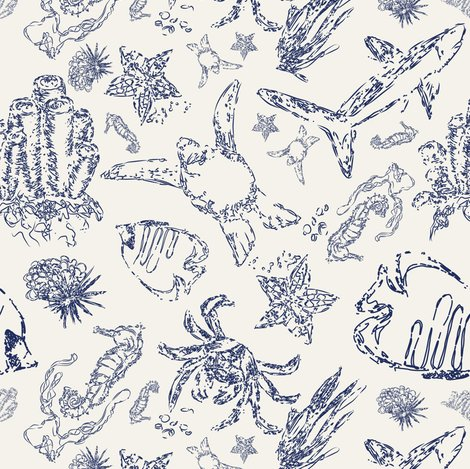 Rrraquatic_life_in_toile_style_navy_on_creme-01_shop_preview