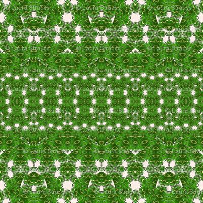 small green palms