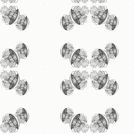 jellyfish_3 fabric by artist_chloe_birnie on Spoonflower - custom fabric