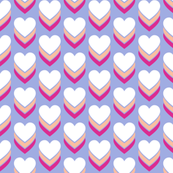 Sweethearts* (Television Blue) || heart candy hearts valentine valentines day love pop art