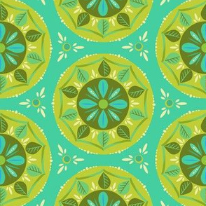 scandi mandala_mint_and_green