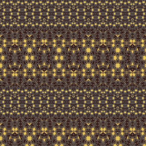 small black and gold palms