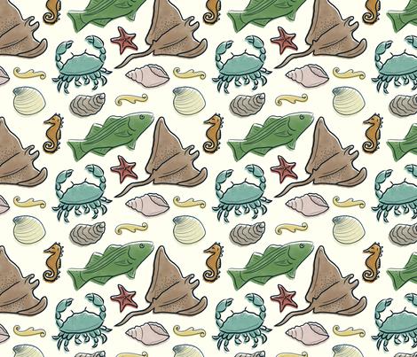 Chesapeake fabric by cherishedminky on Spoonflower - custom fabric