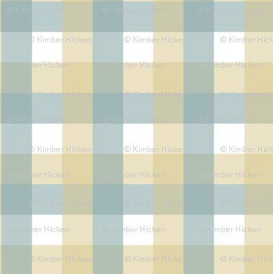 Sea Butter Plaid