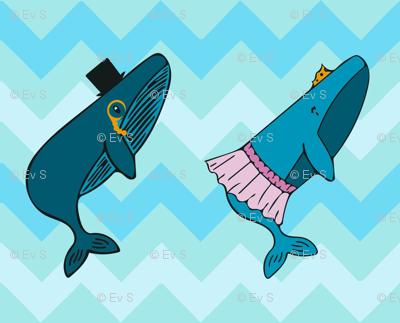 Fancy whales