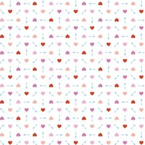 Cupid* (Pinks & Blue) || arrow arrows heart hearts valentine valentines day love pastel