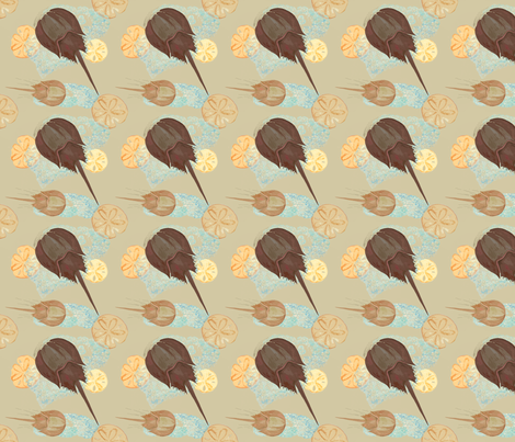 Cape_Cod_Tidal_Pool fabric by heretherebemonsters on Spoonflower - custom fabric