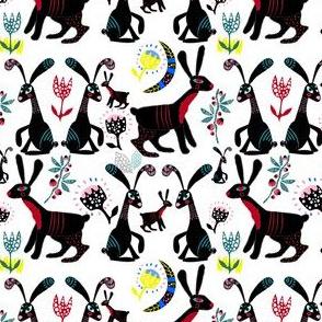 Black bunnies