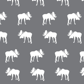 moose on Smokey Mountain Grey