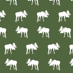 moose on Timber green