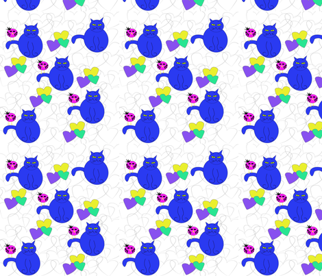 cata_and_birds-ed fabric by iquiltdesigns on Spoonflower - custom fabric