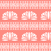 LOTUS STRIPE Peach