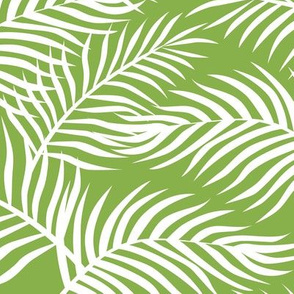 Palm Leaves: Greenery