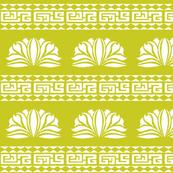 LOTUS STRIPE Chartreuse