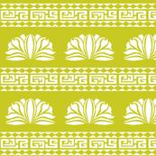 Chrysanthemum Stripe Chartreuse