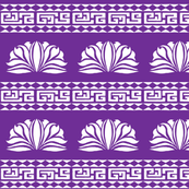 Chrysanthemum Stripe Purple