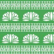 Chrysanthemum Stripe Green