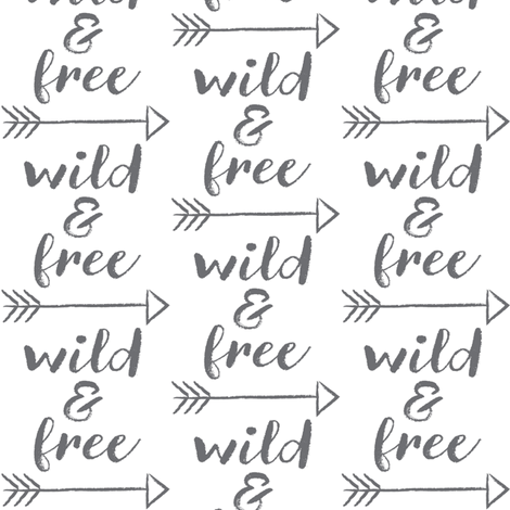wild-and-free fabric by lilcubby on Spoonflower - custom fabric