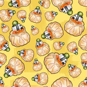 Happy Dumpling - Yellow