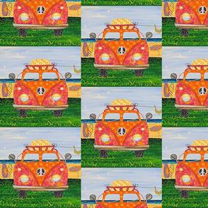 Hippy Van Orange
