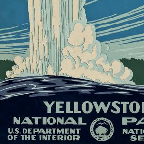 WPA Yellowstone National Park