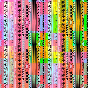 Abstract pattern rainbow .