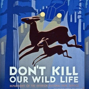 WPA- Don't Kill Our WIldlife