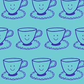 Blue Tea Cup