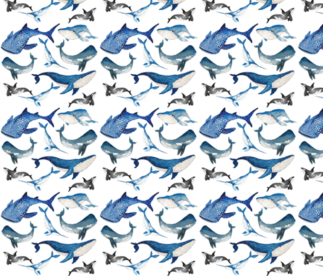 Spirit of the Sea fabric by appaloosa_designs on Spoonflower - custom fabric