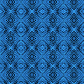 Blue Diamond Brocade