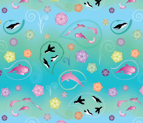 aquaticpaisley2 fabric by et_al on Spoonflower - custom fabric