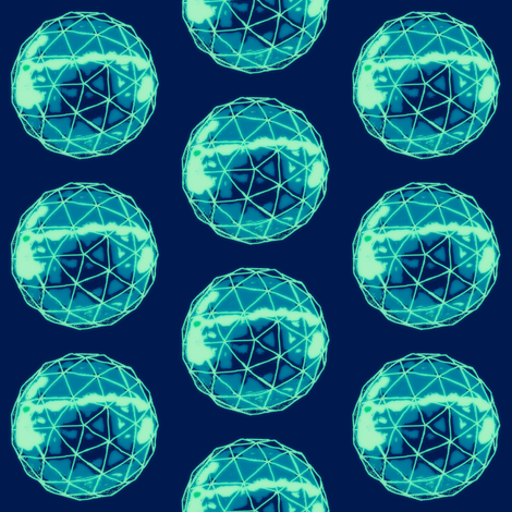 Geo Glow fabric by franbail on Spoonflower - custom fabric