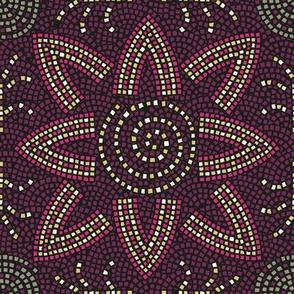 Mosaic Flower Tile