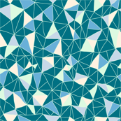 Geodesickness (teal variation)