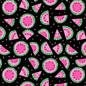 watermelons black