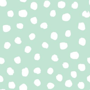 mint dots fabric mint dot nursery fabric
