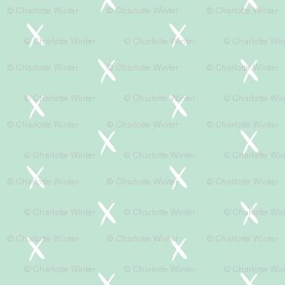 x mint fabric mint nursery fabric