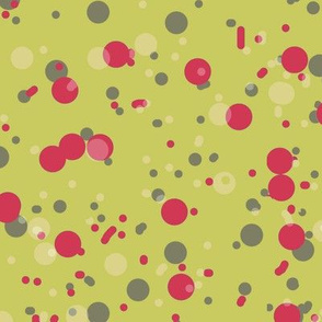 Speckles Splotches and Spots Yellow-green and Red