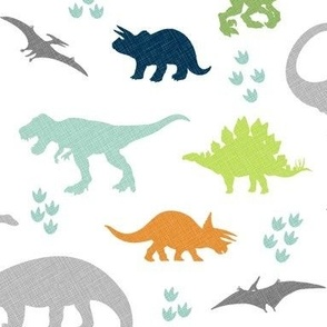 Linen Dinosaurs