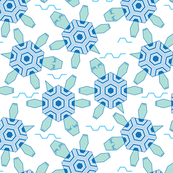 hexagonal turtles and waves