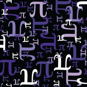 Pieces of Pi (Purple)