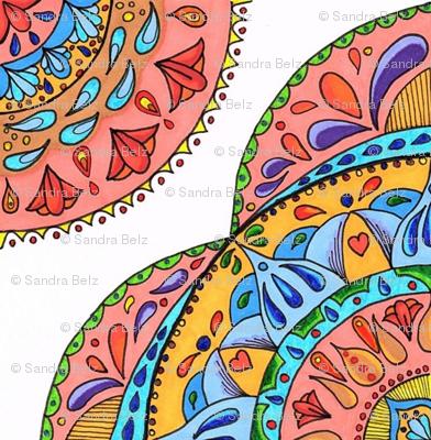 Multi color Mandalas