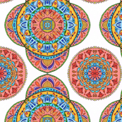 Multi color Mandalas