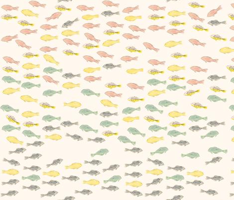 Ocean Jewels fabric by frumafar on Spoonflower - custom fabric