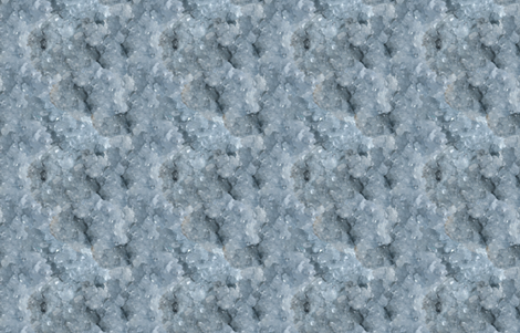 Stones // Light Blue Celestite Crystal fabric by stars_and_stones on Spoonflower - custom fabric