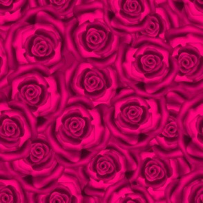 Rose silk neon pink .